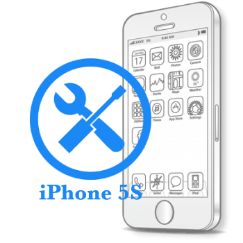 Ремонт iPhone 5S Восстановление коннекторов платы