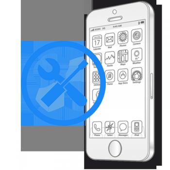 Восстановление коннекторов платы iPhone 6 Plus