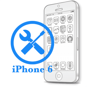 Ремонт iPhone 6 Восстановление коннекторов платы