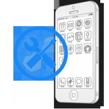 Восстановление коннекторов платы iPhone 6