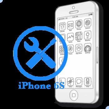Ремонт iPhone 6S Восстановление коннекторов платы