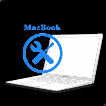 Ремонт Ремонт iMac и MacBook MacBook 2006-2010 Восстановление коннекторов платы