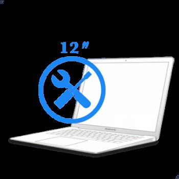 Ремонт Ремонт iMac и MacBook МacBook 12ᐥ Восстановление коннекторов платы