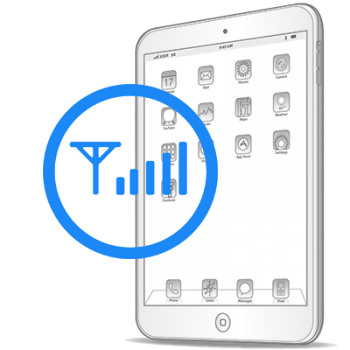 Восстановление модемной части iPad Air
