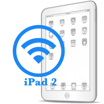 iPad 2 Замена модуля WiFi