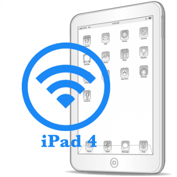 Ремонт Ремонт iPad iPad 4 Замена модуля WiFi