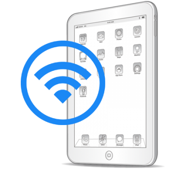 Замена модуля WiFi iPad 4