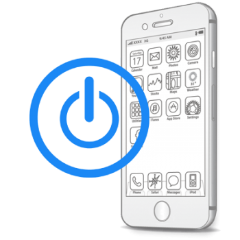 Восстановление-замена кнопки Power (включения, блокировки) iPhone 7 Plus