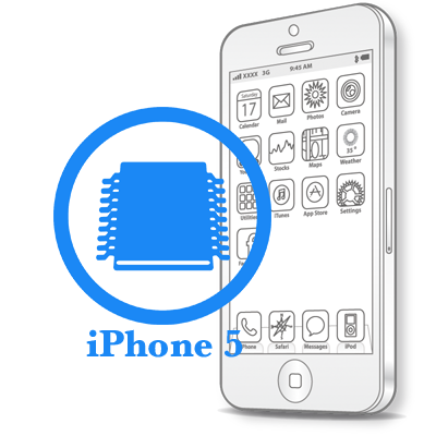 Ремонт iPhone 5 Відновлення конекторів плати