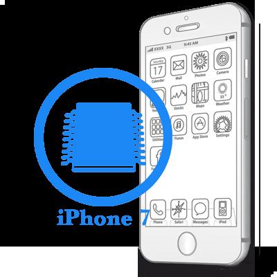 Ремонт iPhone 7 Відновлення коннекторов плати