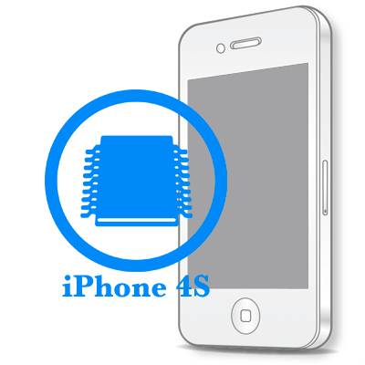 Ремонт iPhone 4S Відновлення ланцюга живлення