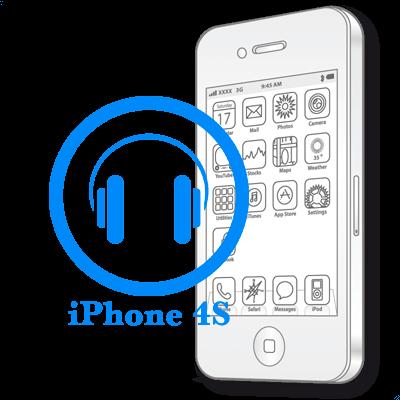Ремонт iPhone 4S Заміна аудіо-роз'єму (вхід для навушників)