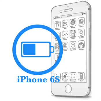 Ремонт iPhone 6S Замена батареи (аккумулятора)