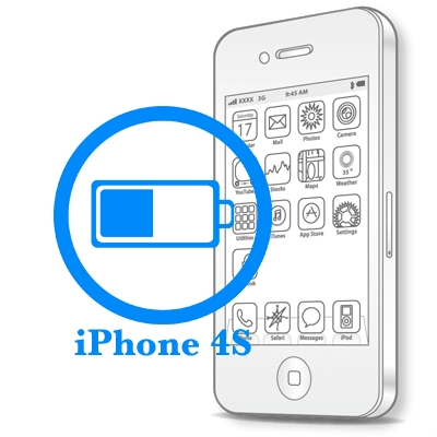 iPhone 4S Заміна батареї (акумулятора)