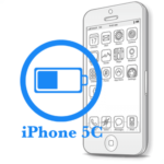 Ремонт iPhone 5C Замена батареи (аккумулятора)