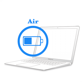 Ремонт Заміна батареї MacBook Ремонт iMac та MacBook MacBook Air 2010-2017 Заміна батареї на
