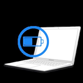 Замена батареи на MacBook Air