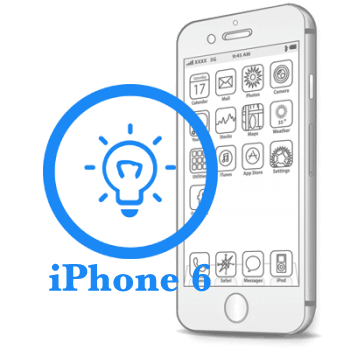 Ремонт iPhone 6 Замена датчиков освещения и приближения