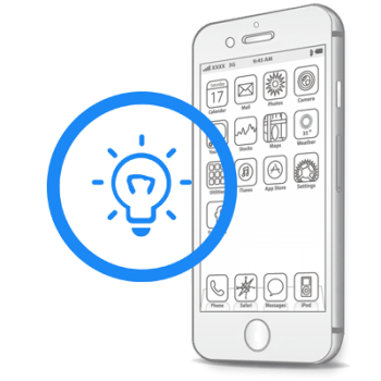 Замена датчиков освещения и приближения iPhone 6S Plus