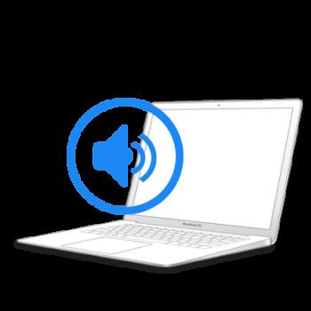 Замена динамика на MacBook Air