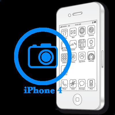 Замена передней (фронтальной) камеры iPhone 4