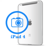 iPad 4- Замена задней камеры