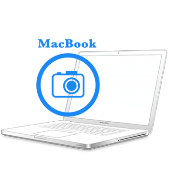 - Заміна камериMacBook