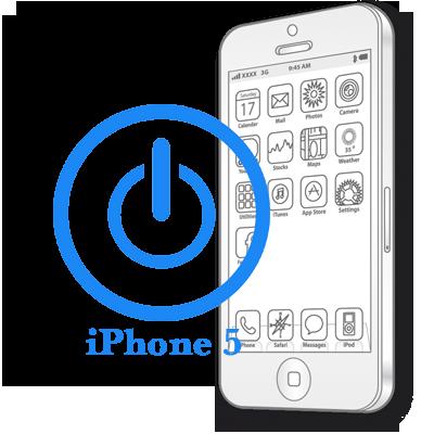 Ремонт iPhone 5 Ремонт кнопки вмикання (блокування)