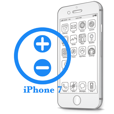 iPhone 7 - Ремонт кнопок гучності
