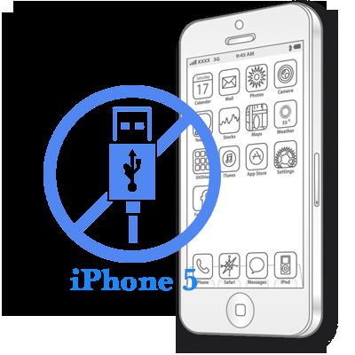 iPhone 5 - Замена USB контроллера