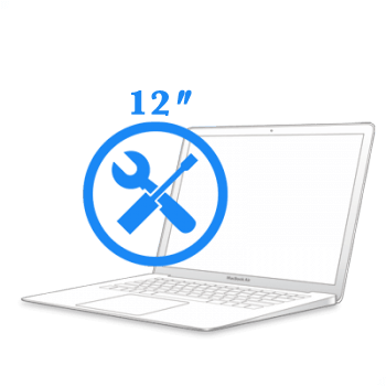 Замена крышки шарнира MacBook 12ᐥ