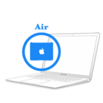 Замена крышки шарнира MacBook Air 2010-2017