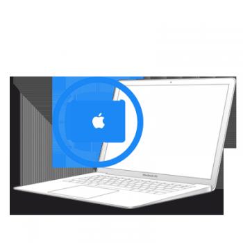 Замена крышки шарнира MacBook Air