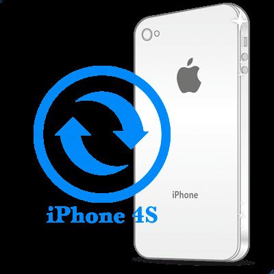 4S- Замена металлической рамки iPhone