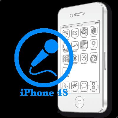 Ремонт iPhone 4S Заміна мікрофону