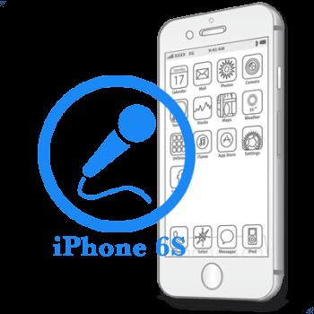 Ремонт iPhone 6S Замена микрофона на