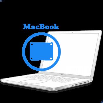 Замена ножек нижней крышки MacBook