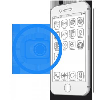 Замена передней (фронтальной) камеры на iPhone 7 Plus