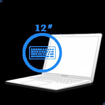 МacBook 12ᐥ - Замена топкейса (с клавиатурой) для