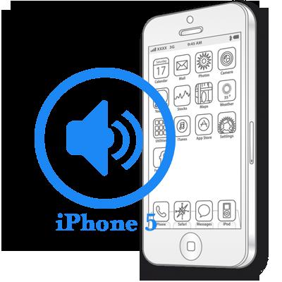 Ремонт iPhone 5 Заміна поліфонічного динаміка