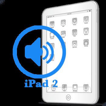 iPad 2 Замена полифонического динамика (buzzer)