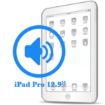 iPad Pro - Замена полифонического динамика (buzzer) 12.9ᐥ