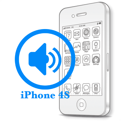 Ремонт iPhone 4S Заміна поліфонічного динаміка