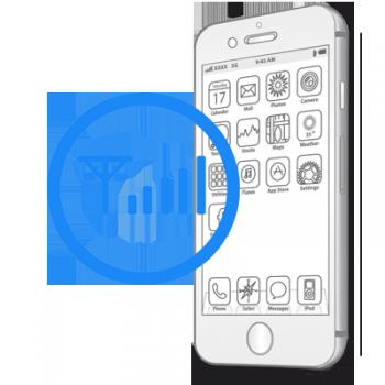 Замена SIM приемника iPhone 6 Plus