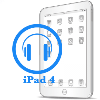 Ремонт Ремонт iPad iPad 4 Замена разъёма для наушников (аудиоджека)