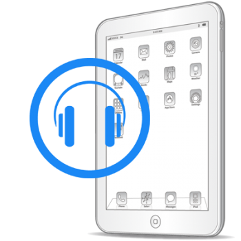Замена разъёма для наушников (аудиоджека) iPad 4