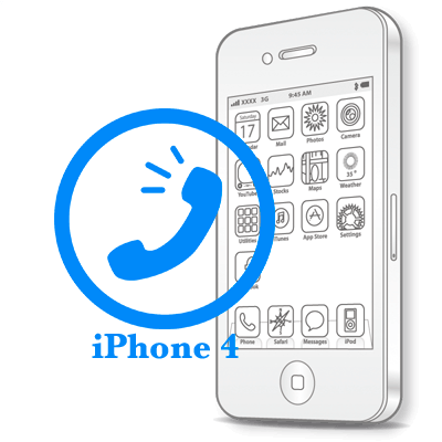 Ремонт iPhone 4 Заміна розмовного динаміка