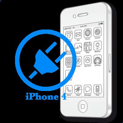 Ремонт iPhone 4 Заміна роз'єму синхронізації (зарядки)