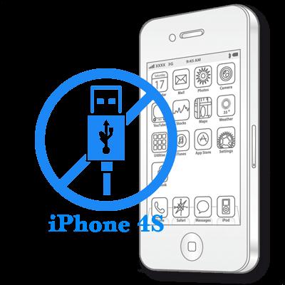 Ремонт iPhone 4S Заміна роз'єму синхронізації (зарядки)