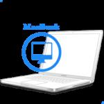 - Замена экрана в сбореMacBook